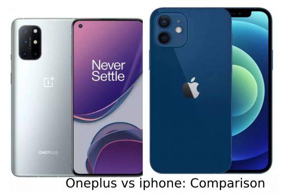 Oneplus vs iphone_ Comparison